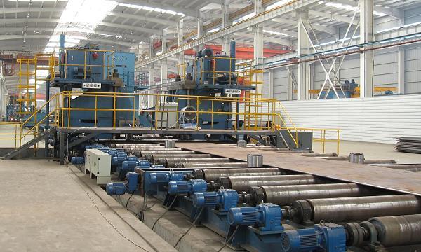JCOE直缝埋弧焊管生产线