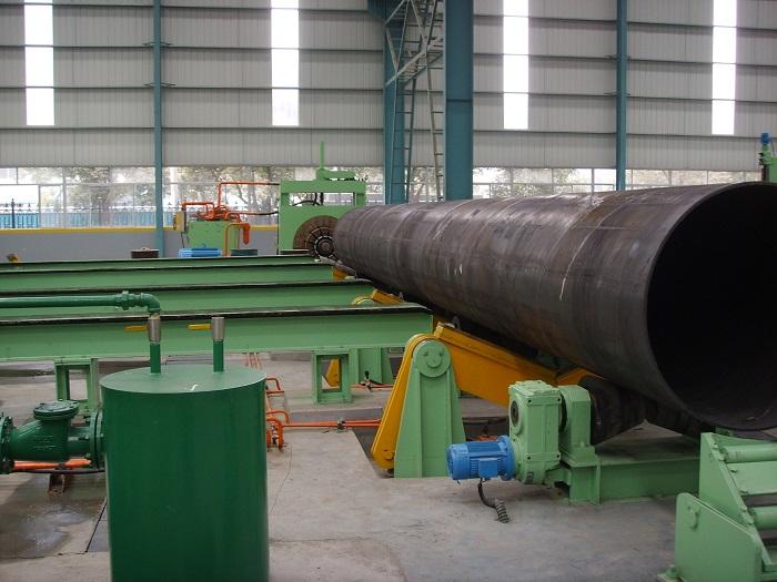 螺旋焊管设备结构调整更重视标准化要求