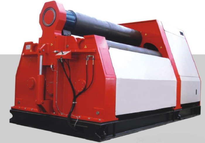 Heavy four-roll plate machine
