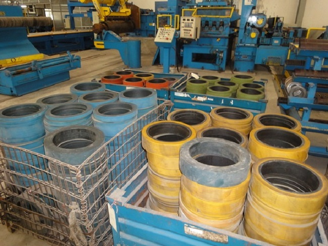 Slitting slitting and Kaiping production line parts